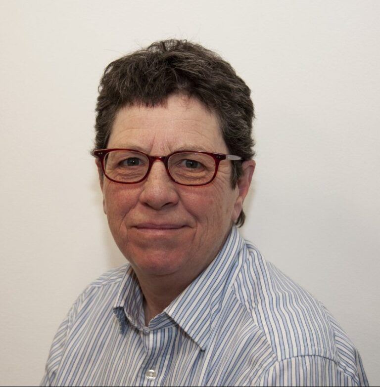 Profile picture of Morag Robertson who is the Chair of St Ives Community Land Trust