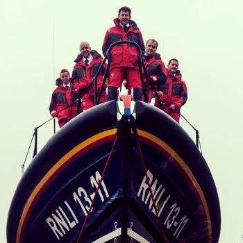 RNLI St Ives Lifeboat crew