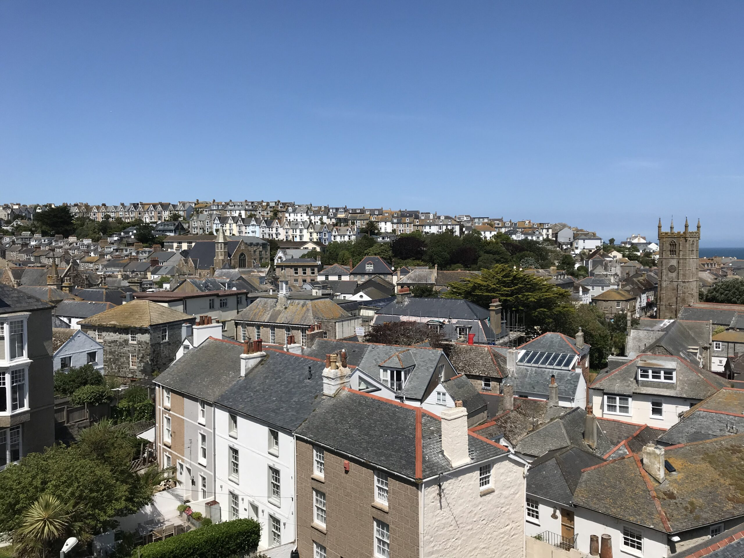 Rooftops of St Ives